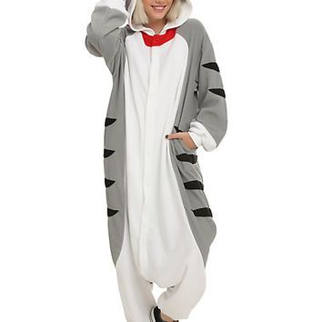Tabby Cat Kigurumi Costume Pajamas