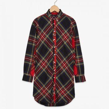 Fred Perry - Stewart Tartan Relaxed Fit Dress
