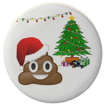 Emoji Christmas Chocolate Covered Oreo Cookies Gift