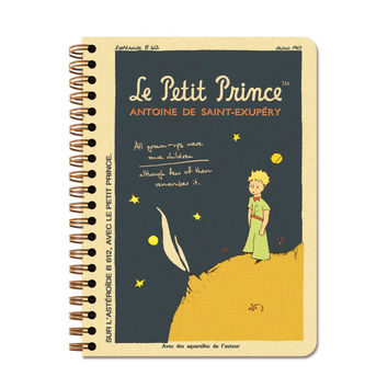 Twinring Line Note Small - Little Prince