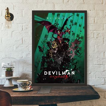 Devilman Crybaby Netflix Japanese Anime TV Show Wall Art Wall Decor Silk Prints Art Poster Paintings For Living Room No Frame
