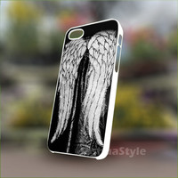 Daryl Dixon wing jacket - Personalized Case for iPhone 4/4s, 5, 5s, 5c, Samsung S3, S4, S3, S4 mini Pastic and Rubber Case.