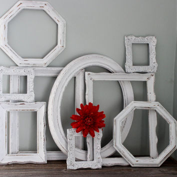 Shop Shabby Chic Wall Frames On Wanelo