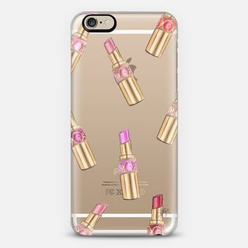 Lipstick Shuffle (Transparent) iPhone 6 case by H. Nichols Illustration | Casetify