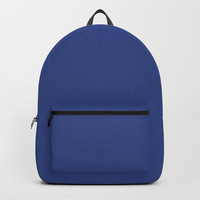 Resolution Blue Backpack by deluxephotos