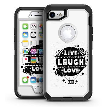 Live Laugh Love - iPhone 7 or 7 Plus OtterBox Defender Case Skin Decal Kit
