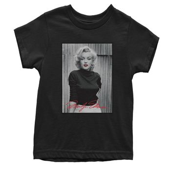 Marilyn Monroe Signature Youth T-shirt