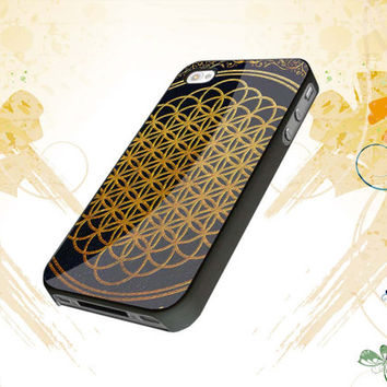 Bring Me The Horizon cover album gold For iphone 4,4s,5,samsung galaxy s3 i9300,and s4 i9500