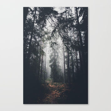 Dark paths Canvas Print by HappyMelvin