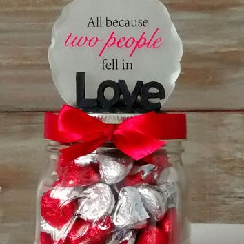Valentines day mason jar,  Valentines day treats, mason jar candy,  Valentines day candy,  Valentines decor,  Valentines Chocolate
