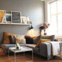 For the Home / Janie Hearts: Grey Rooms