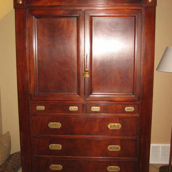 "Ralph Lauren Home ""Hastings"" Armoire - Mahogany"