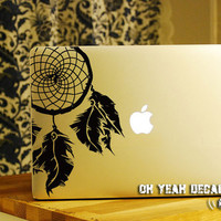 Dreamcatcher macbook decal/Decal for Macbook Pro, Air or Ipad/Stickers/Macbook Decals/Apple Decal for Macbook Pro / Macbook Air/laptop 1209