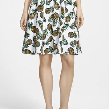 Women's Piece Goods Pineapple Skirt,