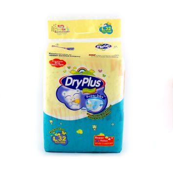 Baby Dry Diapers Plus Anti Leakage Size S-XL