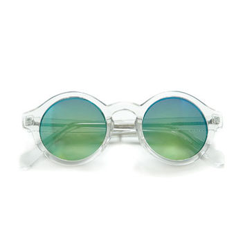 ROUND LENS GLASSES WITH TRANSPARENT FRAME - Accessories - Woman | ZARA Spain