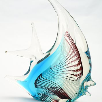 Blue Glass Fish