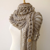 FREE ShippingNew Rapunzel Scarf Ready for by knittingshop on Etsy