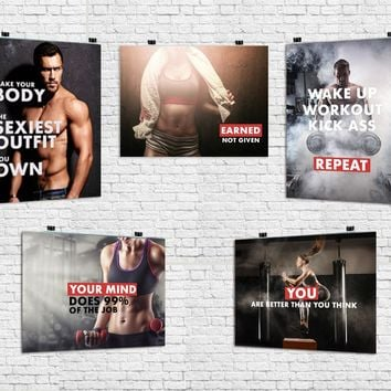 WORKOUT POSTER PACK