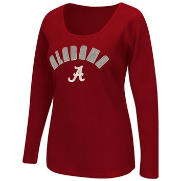Alabama Crimson Tide Women's Storm Thermal Long Sleeve T-Shirt – Crimson