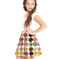 Girls Donuts Skater Skirt