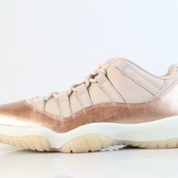 BC SPBEST Nike Womens Air Jordan Retro 11 Low Rose Gold Red Bronze Sail AH7860-105 (NO Codes)