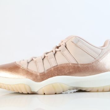 BC QIYIF Nike Womens Air Jordan Retro 11 Low Rose Gold Red Bronze Sail AH7860-105 (NO Codes)