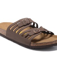 Women's BIRKENSTOCK sandals Granada Soft Footbed Oiled Leather 632632288-118