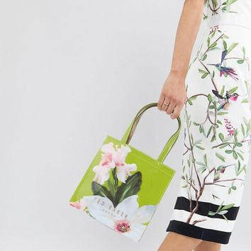 Ted Baker Small Icon Bag in Chatsworth Bloom at asos.com