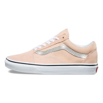 Vans Old Skool + Crystals - Frappe