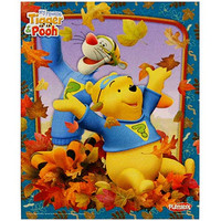 My Friends Tigger and Pooh Woodboard Puzzle [Pooh and Tigger - 9 Pieces]