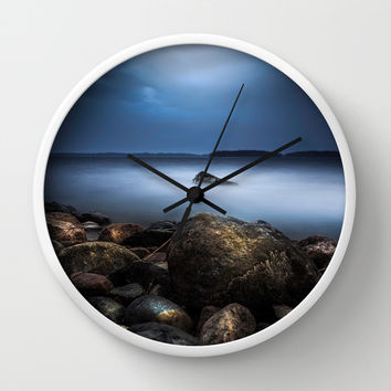 The rebel Wall Clock by HappyMelvin