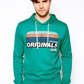 Jack & Jones Hoodie With Original 1975 Print