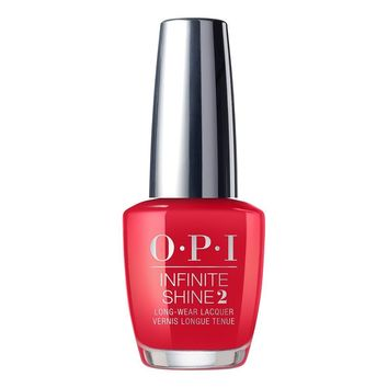 OPI Infinite Shine - Red Heads Ahead - #ISLU13