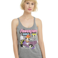 The Powerpuff Girls Versus Mojo Jojo Girls Tank Top