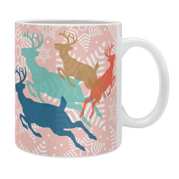 Heather Dutton Dashing Through The Snow Serene Coffee Mug