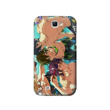 P1904 Free Iwatobi Swim Club Case For Samsung Galaxy Note 2