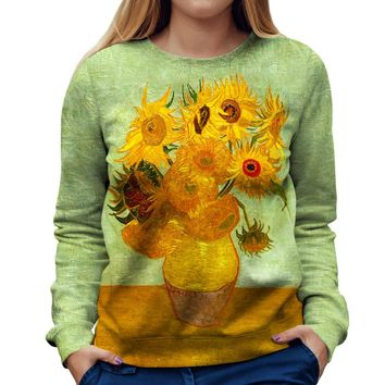 Sunflowers Womens Sweatshirt