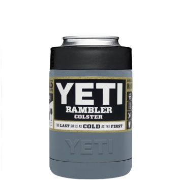 Custom Designed YETI Squirrel Gray Colster Can Cooler & Bottle Insulator
