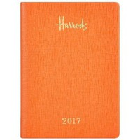 Harrods Week-To-View 2017 Pocket Diary With Pen