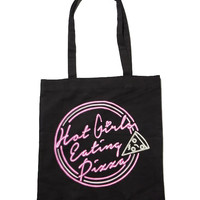 Hot Girls Eating Pizza Tote