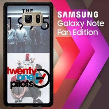 21Pilots And The D0021 Samsung Galaxy Note FE Fan Edition Case