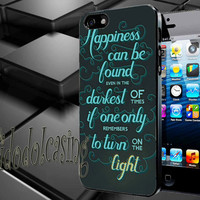 harry potter queto Case For iPhone 4/4s, iPhone 5/5S/5C, Samsung S3 i9300, Samsung S4 i9500 *rafidodolcasing*