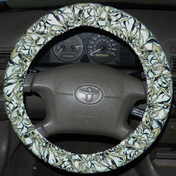 Tropical Steering Wheel Cover