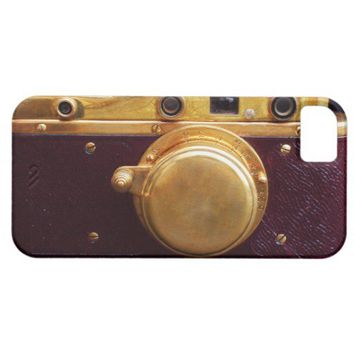 Vintage Burgundy Camera iPhone 5 Cases from Zazzle.com