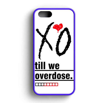 The Weeknd Logo Till We Overdose iPhone 5 Case iPhone 5s Case iPhone 5c Case
