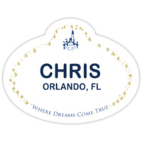 'Chris From Orlando' Sticker by lunalalonde