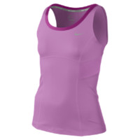 Nike New Boarder Girls' Tennis Tank Top - Red Violet
