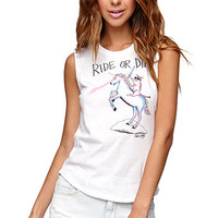 Riot Society Ride Or Die Muscle Tank at PacSun.com