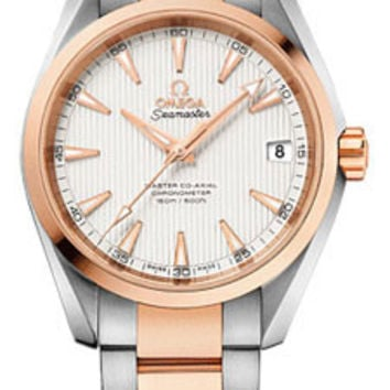 Omega - Seamaster Aqua Terra 150 M Master Co-Axial 38.5 mm - Stainless Steel And Red Gold